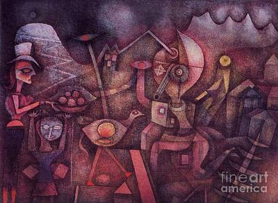 Painting - Carnival In The Mountains by Pg Reproductions