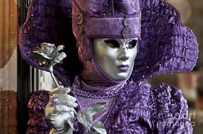 Olia Saunders Photograph - Carnival In Venice 1 by Design Remix