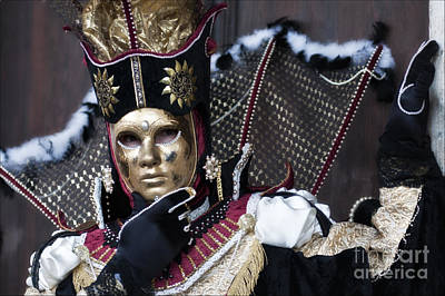 Olia Saunders Photograph - Carnival In Venice 13 by Design Remix
