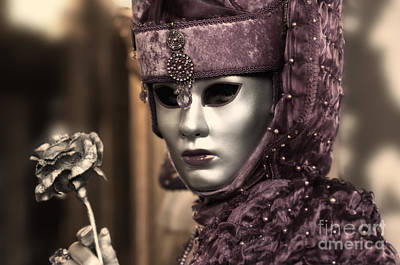 Olia Saunders Photograph - Carnival In Venice 19 by Design Remix