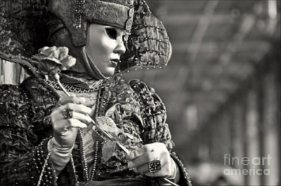 Olia Saunders Photograph - Carnival In Venice 2 by Design Remix