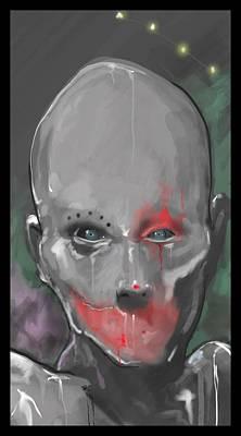 Klown Digital Art - Midway Of The Bizarre by Lance Shaffer