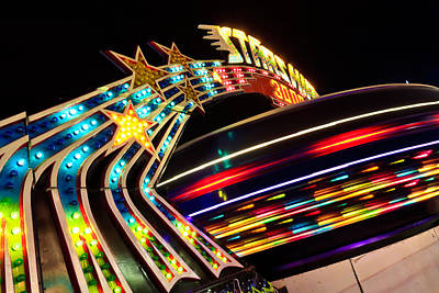 Photograph - Carnival Ride by Ben Graham