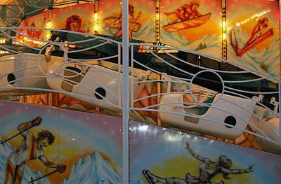 Carnival Ride  Art Print by Cynthia Guinn