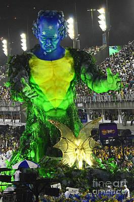 Photograph - Carnival Rio De Janeiro 10 by Bob Christopher