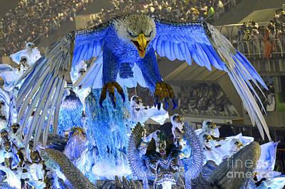 Photograph - Carnival Rio De Janeiro 11 by Bob Christopher