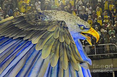 Photograph - Carnival Rio De Janeiro 12 by Bob Christopher