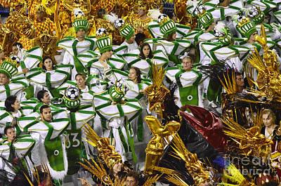 Photograph - Carnival Rio De Janeiro 13 by Bob Christopher
