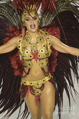 Photograph - Samba Beauty 5 by Bob Christopher