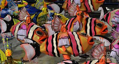 Photograph - Carnival Rio De Janeiro 20 by Bob Christopher