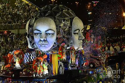 Photograph - Carnival Rio De Janeiro 21 by Bob Christopher