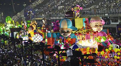 Photograph - Carnival Rio De Janeiro 31 by Bob Christopher