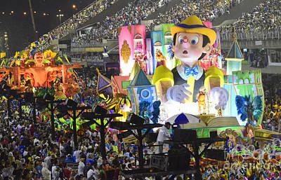 Photograph - Carnival Rio De Janeiro 4 by Bob Christopher