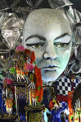 Photograph - Carnival Rio De Janeiro 5 by Bob Christopher