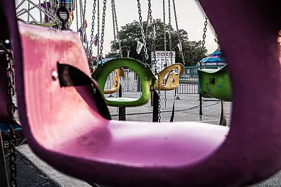 Caravaggio - Carnival Swings 2 by John Shurtz