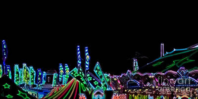 Photograph - Carnival - Tent Tops by Kathi Shotwell
