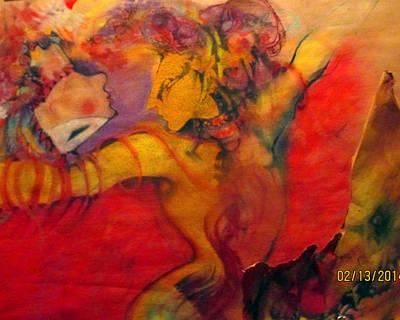 Pastel - Carnivale Dancers by Josie Taglienti