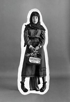 Photograph - Carol Burnett Dressed As A Match-girl by Leonard Nones