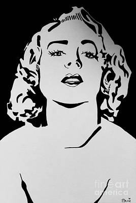Painting - Carole Lombard #1 by Bonnie Cushman