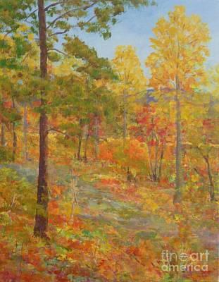 Carolina Autumn Gold Art Print