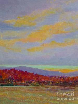 Carolina Autumn Sunset Art Print