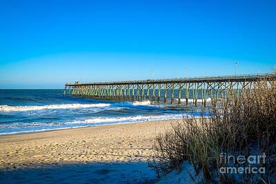 Photograph - Carolina Beach Pier by Eve Spring
