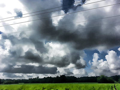 Photograph - Carolina Clouds by Paulette B Wright