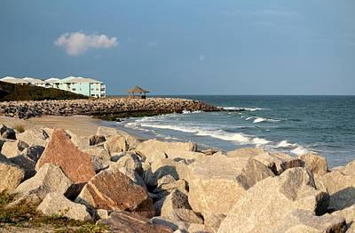 Print featuring the photograph Carolina Coast by Cynthia Guinn