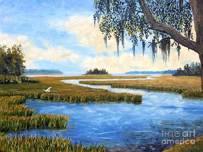 Carolina Colors Art Print by Stanton Allaben