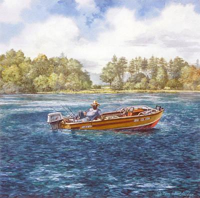 Painting - Carolina Cool by Tom Wooldridge