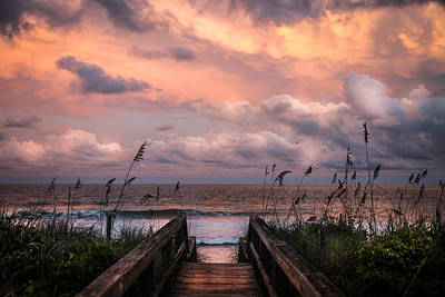 Pastel Sunset Photograph - Carolina Dreams by Karen Wiles