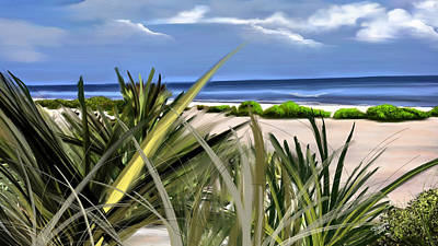 Carolina Dunes Art Print by Anthony Fishburne