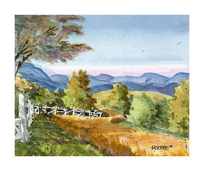 Carolina Piedmont High Meadow Art Print