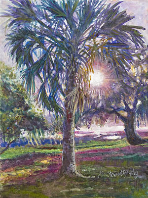 Rice Field Painting - Carolina Reveille by Alice Grimsley