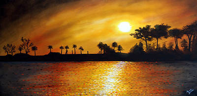 Painting - Carolina Sun by Marvin Barham