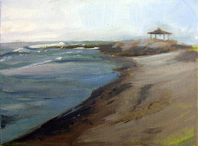 Painting - Carolina's Surf by Erin Rickelton