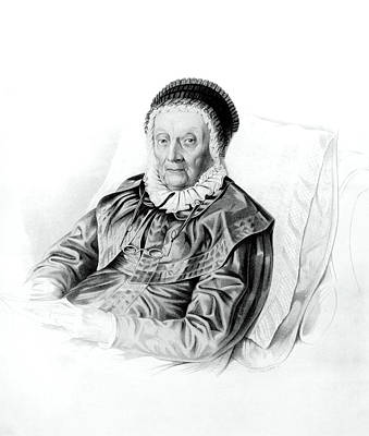 Caroline Wall Art - Photograph - Caroline Herschel by Royal Astronomical Society/science Photo Library