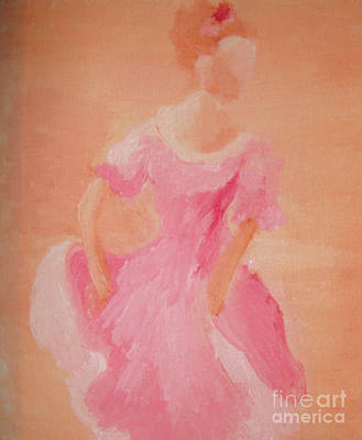 Ballroom Painting - Caroline by Julie Thorniley