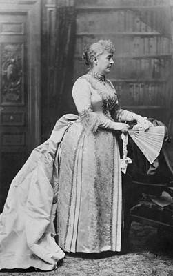 Photograph - Caroline Lavinia Harrison (1832-1892) by Granger