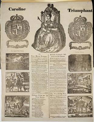 Aristocrat Photograph - Caroline Triumphant by British Library