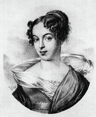 Operatic Painting - Caroline Unger-sabatier (1803-1877) by Granger