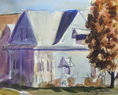Carol's House Art Print
