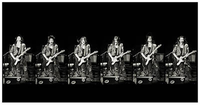 Carolyn Wonderland Rockin' Print by Darryl Dalton