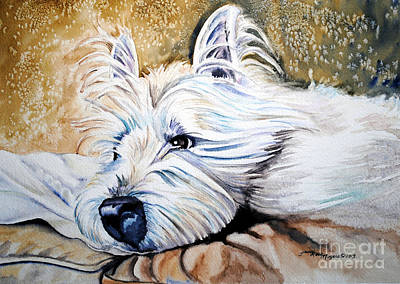 Painting - Carolynn's Duffy by Tracy Rose Moyers