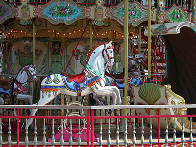 Photograph - Carousel  0776a by Guy Whiteley