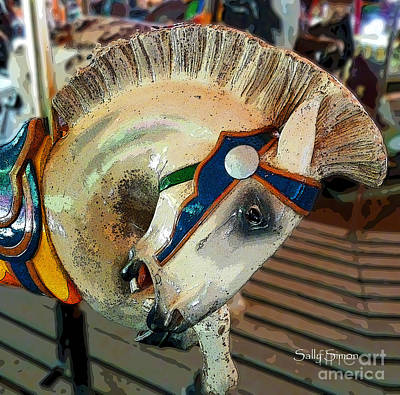 Photograph - Carousel 1 by Sally Simon
