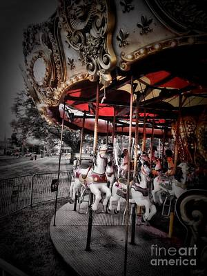 Photograph - Carousel 2 by September  Stone