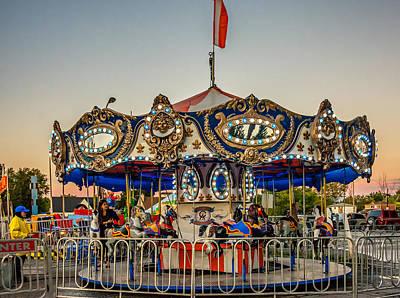 Carnival Photograph - Carousel 2 by Steve Harrington