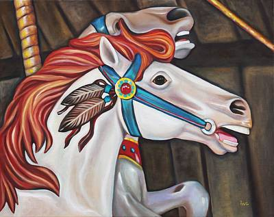 Carousel Chief Original by Eve  Wheeler