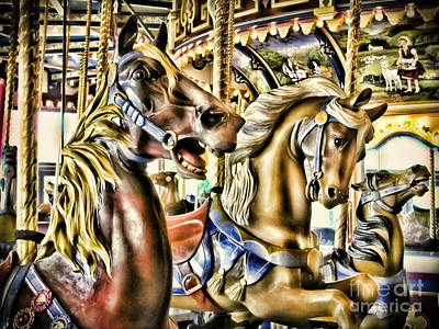 Photograph - Carousel by Colleen Kammerer